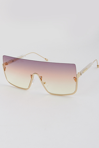 Top Rimless Sunglasses