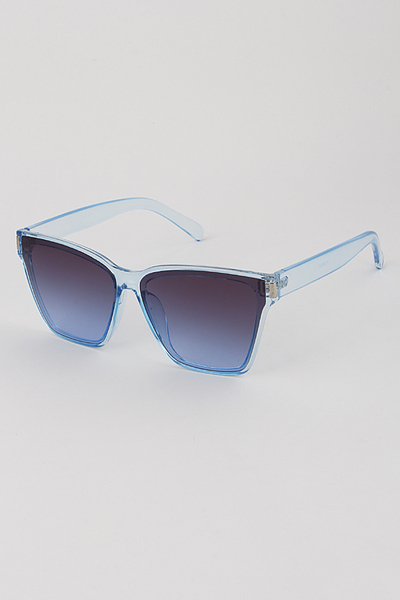 Translucent Clear Sunglasses
