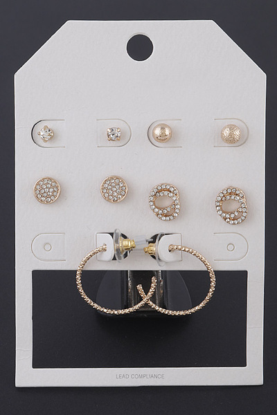Fine Earrings Set