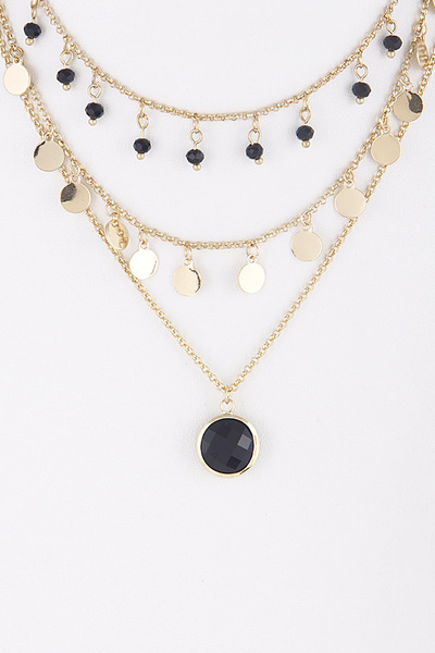 Gypsy Style Layered Necklace