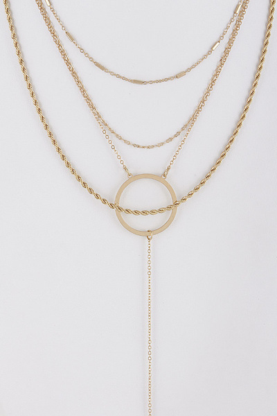 Fashionista Long Necklace