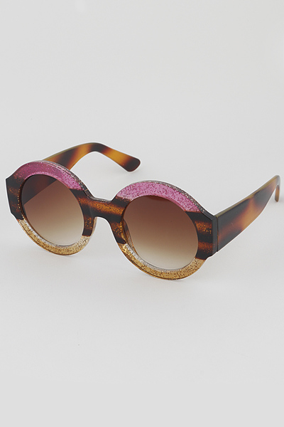 Animal Framed Round Sunglasses