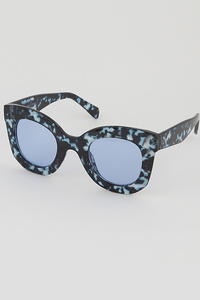 Multi Cat Eye Round Sunglasses