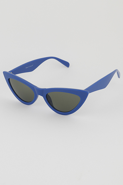 Pop Color Cat Eye Sunglasses
