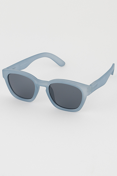 See Through Monotone Sunglasses