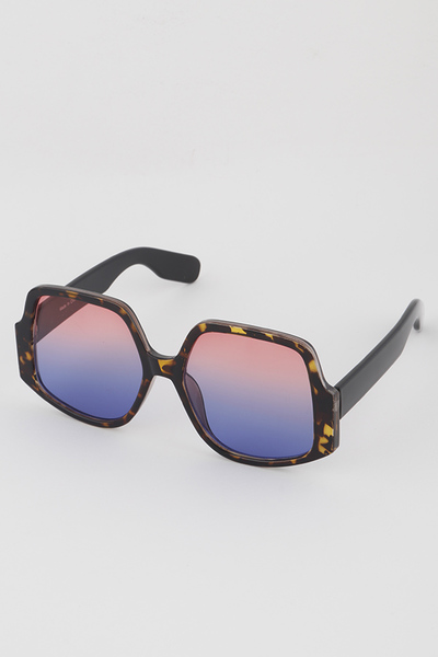 Hexagonal Butterfly Sunglasses