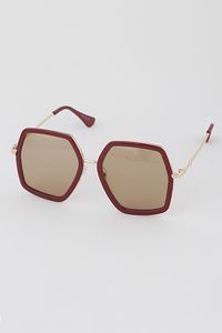 Iconic Hexagon Sunglasses