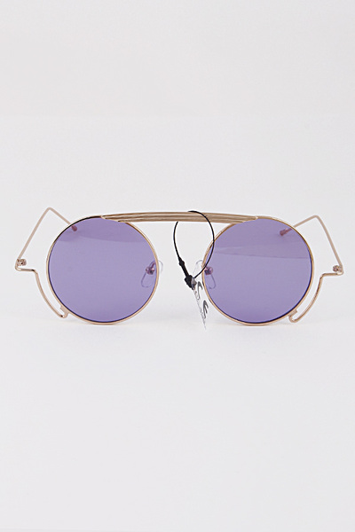 Round Frame Circle Sunglasses
