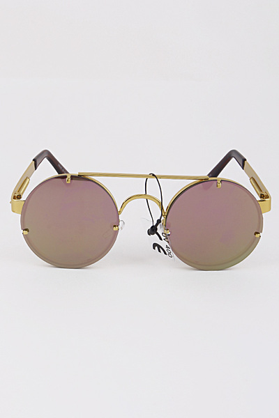 Too Cool Round Framed Sunglasses