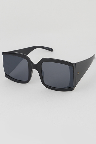 No Framed Sides Rectangle Fashion Sunglasses