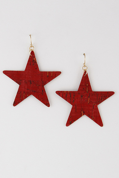 Star Cut Out Earring