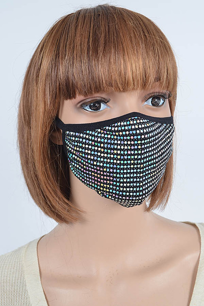 Sequins Fashion Mask