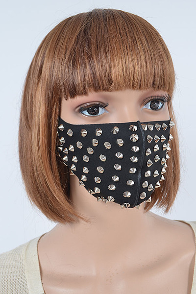 Studded Fashion Mask