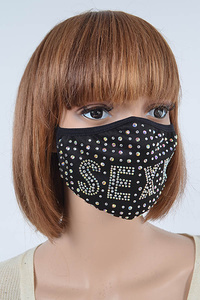 Sexy Rhinestone Fashion Mask