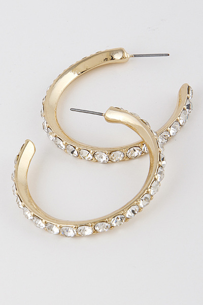 Luxury Classic Hoop Earrings