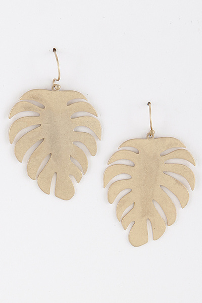 Leaf Dangle & Drop Earrings
