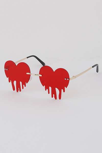 Heart Blood Sunglasses