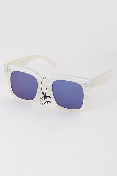 Mirrored Tinted Sunglasses