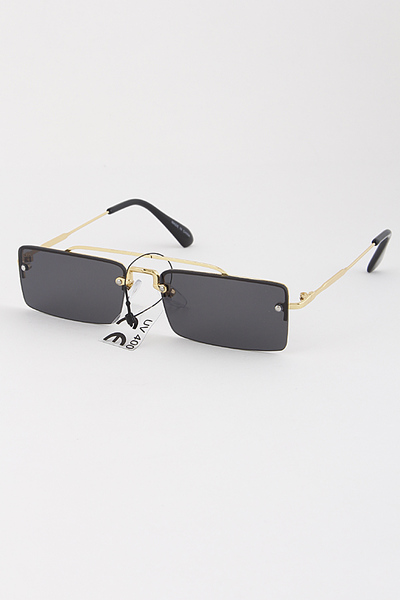 Rectangle Tinted Sunglasses