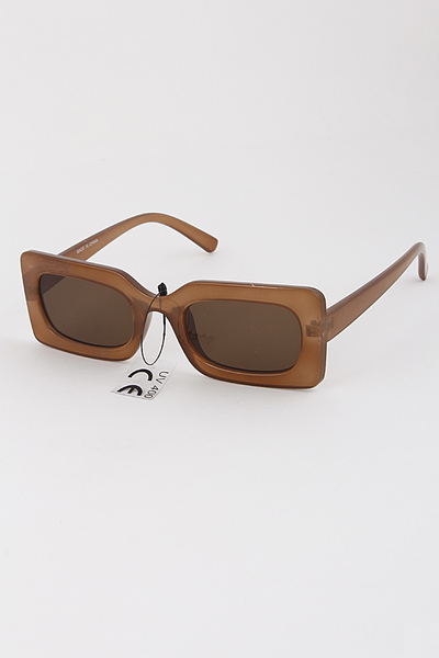 Thick Framed Tinted Sunglasses