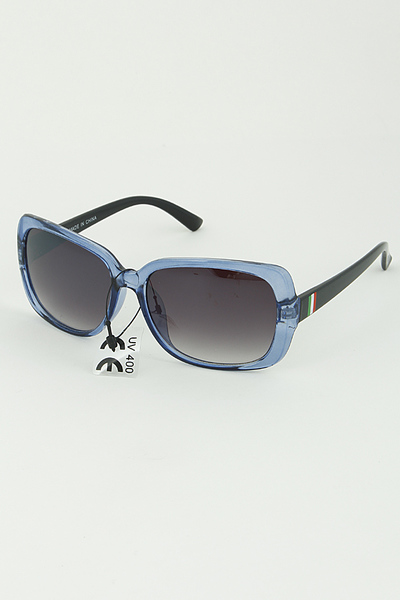 Tinted Framed Sunglasses