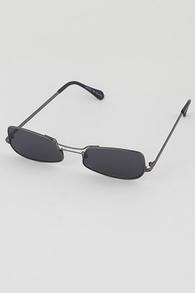 Rectangle Retro Sunglasses
