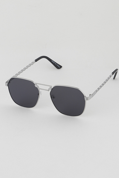 Rim Rectangle Fashion Sunglasses