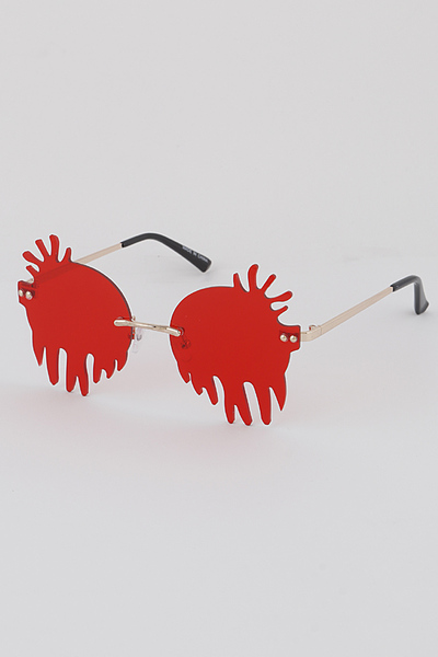 Dropping Blood Sunglasses