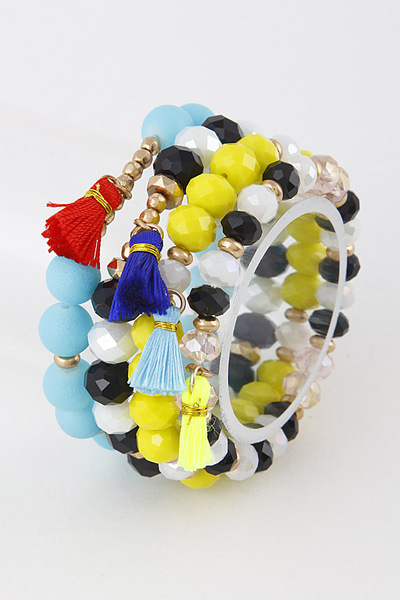 Mixed Colorful Bracelet Set