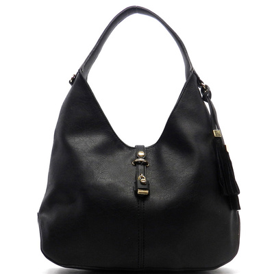 Fashion Tassel Padlock Hobo