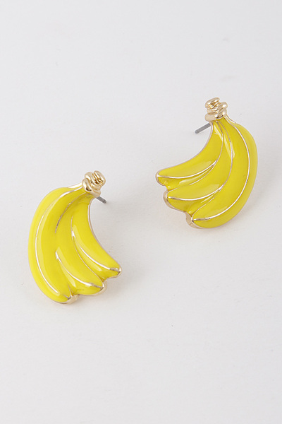 Bunch O' Bananas Earrings