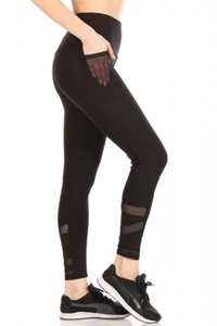 High Waist Tummy Control Sports Leggings