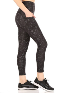 High Waist Tummy Control Leggings Phone Pockets