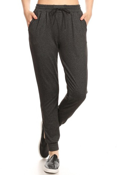 Soft Brushed Fleece Lined Joggers Sweatpants