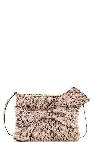 Triple 7 Street Level RIBBON ACCENT CROSSBODY CLUTCH BAG