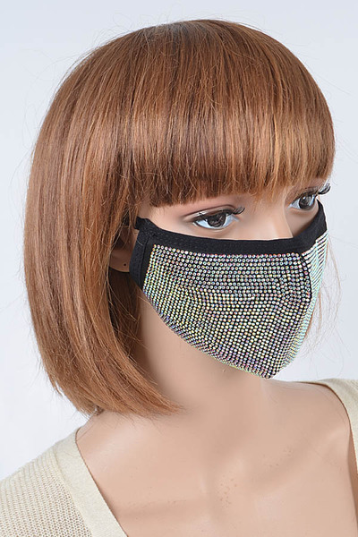 Rhinestone Fashion Mask