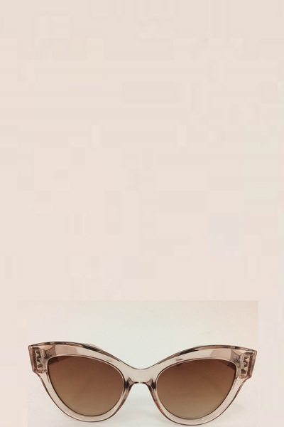 MODERN TRANSPARENT VINTAGE STYLE SUNGLASSES