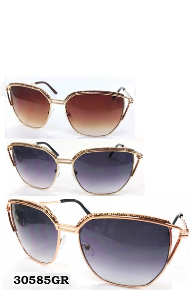 Chic Metal Sunglasses