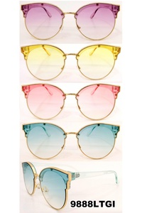 HIP PASTEL ROUND STYLE SUNGLASSES