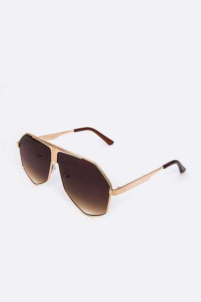 Aviator Inspired Unisex Sunglasses Set