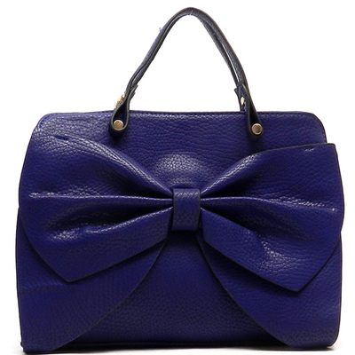 Fashion Bow Tote & Satchel Bag